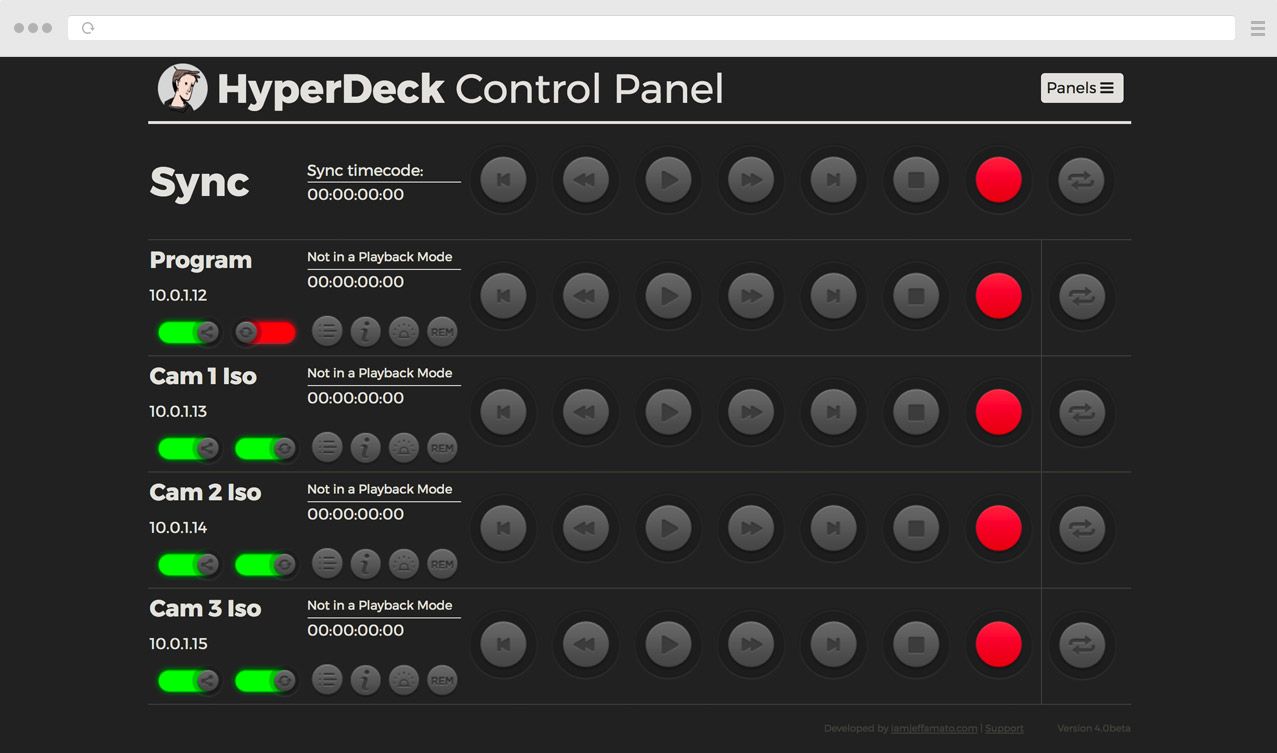 Blackmagic Forum View Topic Remote Controller For Hyperdeck Studio Minis Duplicator 4k